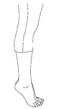 puntillas